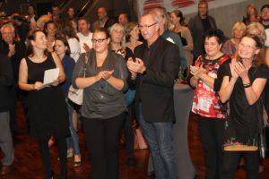 Aus dem Publikum hörte man nichts als Lob für die gelungene Veranstaltung. (Foto: Björn Othlinghaus)