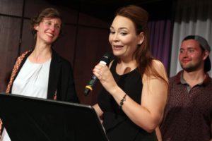 Mezzosopranistin Cornelia Lanz, Darstellerin der Prinzessin Eboli. (Foto: Björn Othllinghaus)