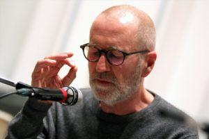 Schauspieler Peter Lohmeyer, die deutsche Erzählstimme von Martin Österdahl. (Foto: Björn Othlinghaus)