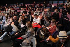 Das Interesse beim Publikum war groß. (Foto: Björn Othlinghaus)