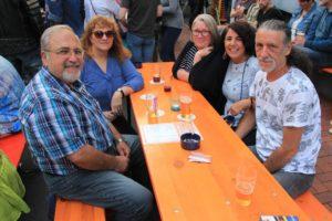 Nirgends in Lüdenscheid konnte man besser einer gute Zeit mit Freunden verbringen als beim ersten Teil des Dahlmann-Open-Air. (Foto: Björn Othlinghaus)