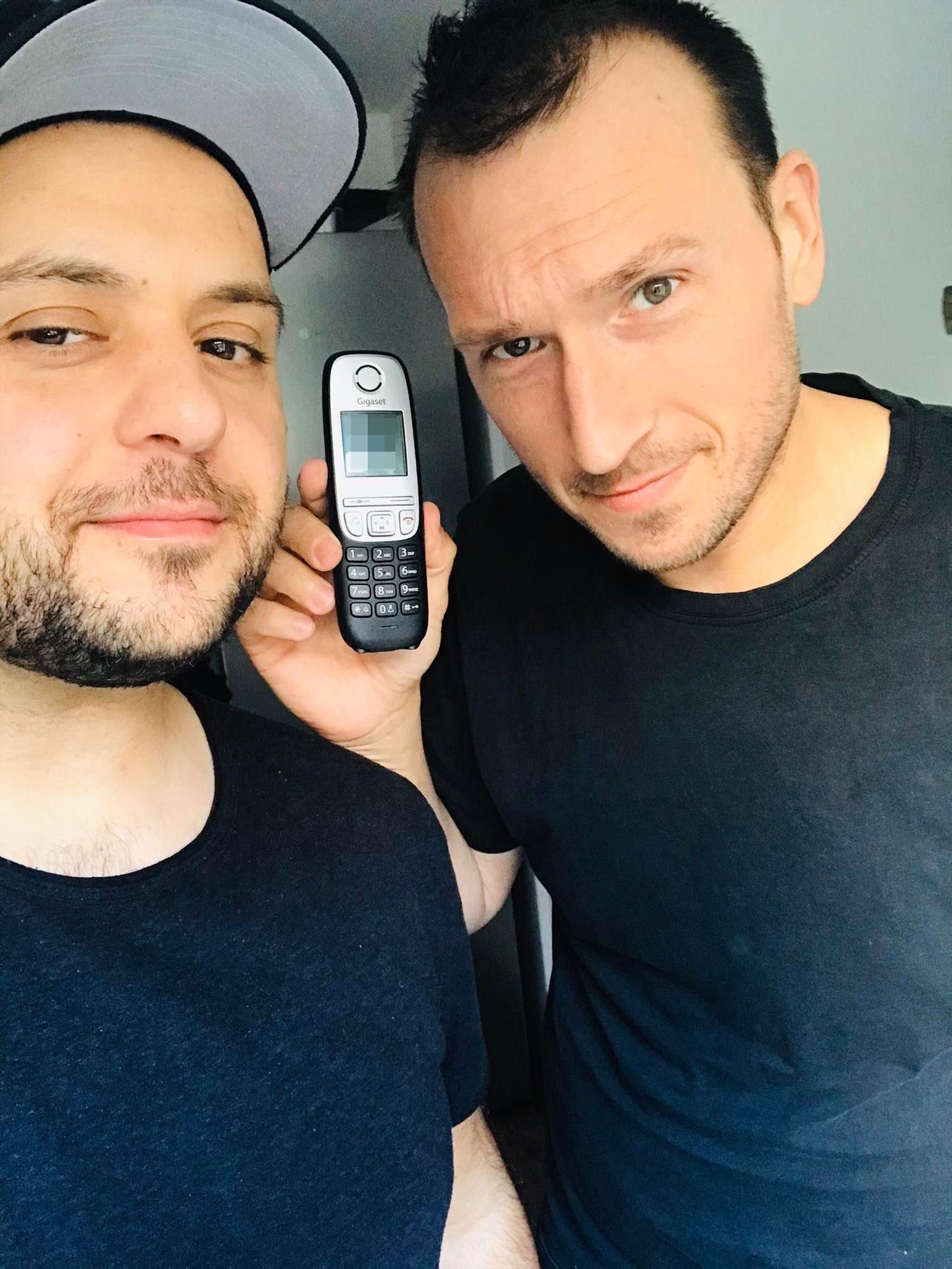 (Selfie: Duo Breddermann)