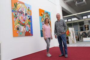 Die Galeristen und Ausstellungsmacher Nadja Schmidt-Widua und Udo Schmidt (Foto: Björn Othlinghaus)