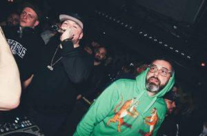 "DJ Eule, Kool Savas und Sido auf der Release-Party zum Kool-Savas-Album ""KKS"" 2019. (Foto: MG Video)"