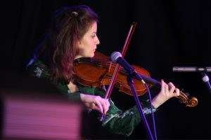 Die Violinistin und Sängerin Charlotte Brand war Gastmusikerin beim letzten Wunschkonzert. (Foto: Björn Othlinghaus)