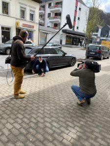 Auch das Fernsehen war bereits bei Christian Breddermann zu Gast - der Beitrag erscheint am Dienstag, 25. Mai 2021, ab 19.30 Uhr in der WDR-Lokalzeit Südwestfalen. (Foto: Lars Quenzel)